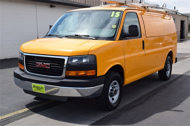 Pre-Owned 2015 GMC Savana 3500 Work Van