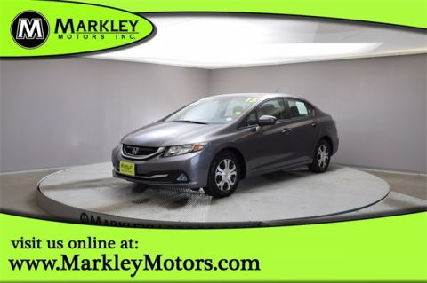 Certified Pre-Owned 2015 Honda Civic Hybrid